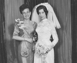 Miriam Ilse wedding 1961 copyright Miriam Gould