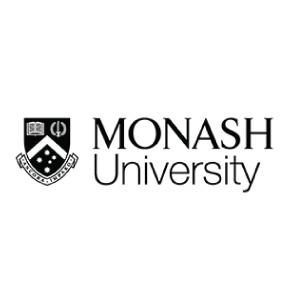 Monash university logo black