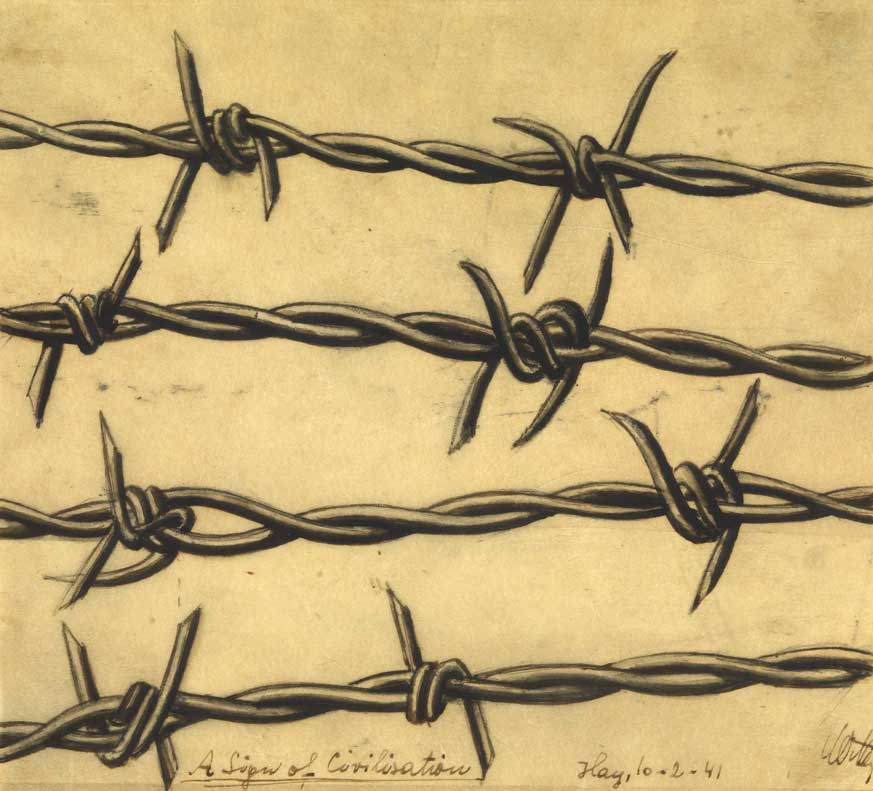 Emil-Whittenberg-barbed-wire