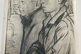 Untitled Sketch of Father and Son